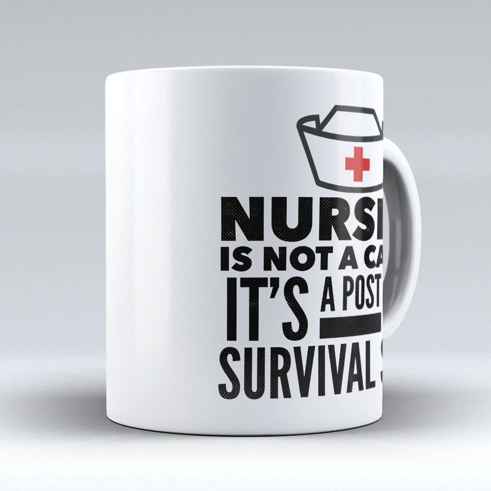 "Limited Edition - ""Nurse Apocalypse"" 11oz Mug - Nurse Mugs - Mugdom Coffee Mugs"