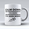 "Limited Edition - ""Worse"" 11oz Mug - Nurse Mugs - Mugdom Coffee Mugs"