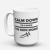"Limited Edition - ""Worse"" 15oz Mug - Nurse Mugs - Mugdom Coffee Mugs"