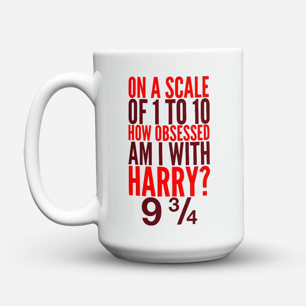 "Limited Edition - ""Obsessed With Harry"" 15oz Mug"