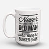 "Limited Edition - ""Old Man"" 15oz Mug - Firefighter Mugs - Mugdom Coffee Mugs"