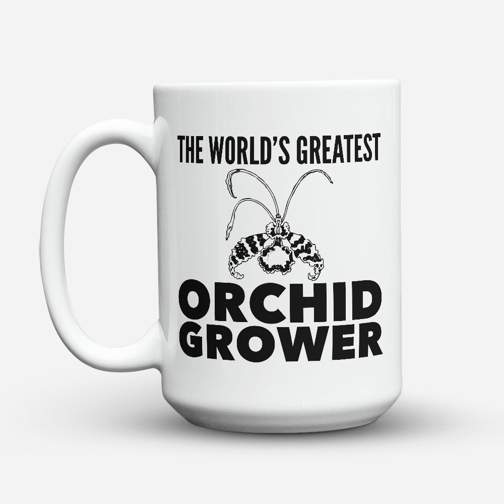 "Limited Edition - ""Orchid Grower"" 15oz Mug"