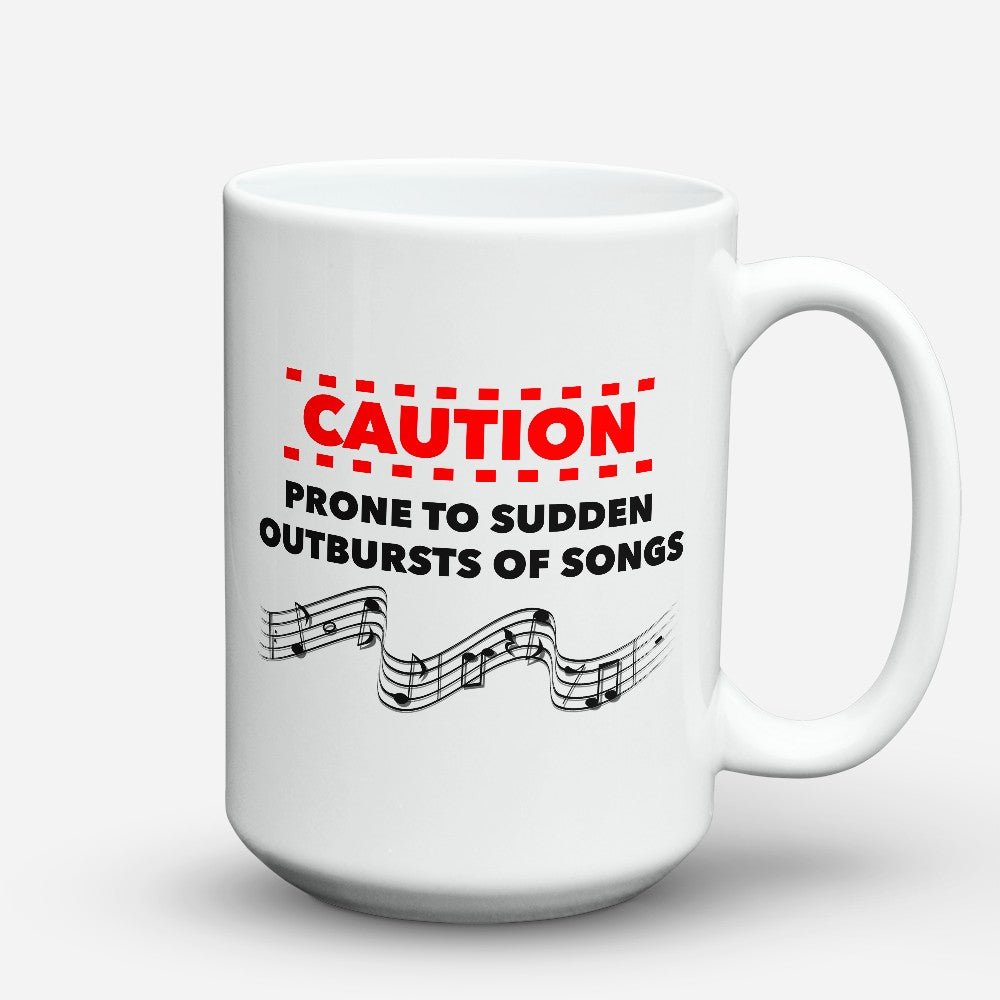 "Limited Edition - ""Outbursts Of Songs"" 15oz Mug"