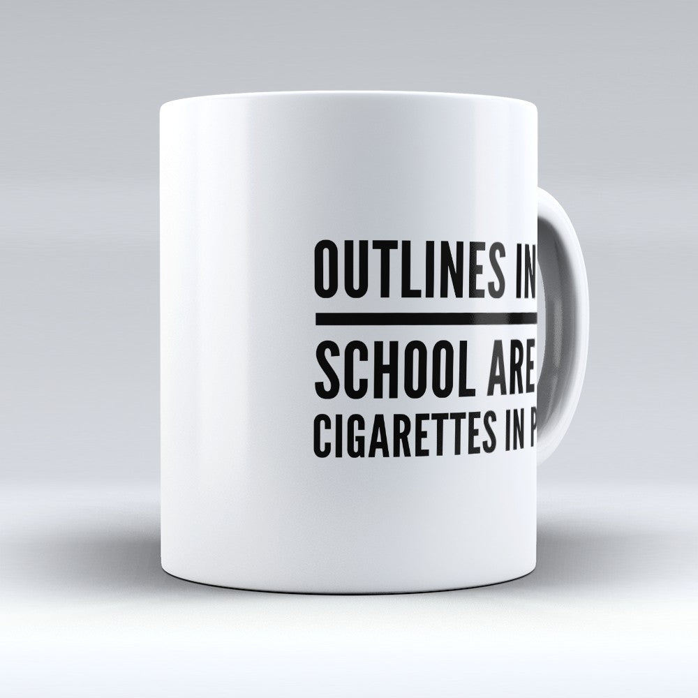 "Limited Edition - ""Outlines In Law"" 11oz Mug"