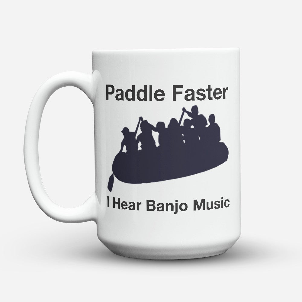 "Limited Edition - ""Paddle Faster"" 15oz Mug"