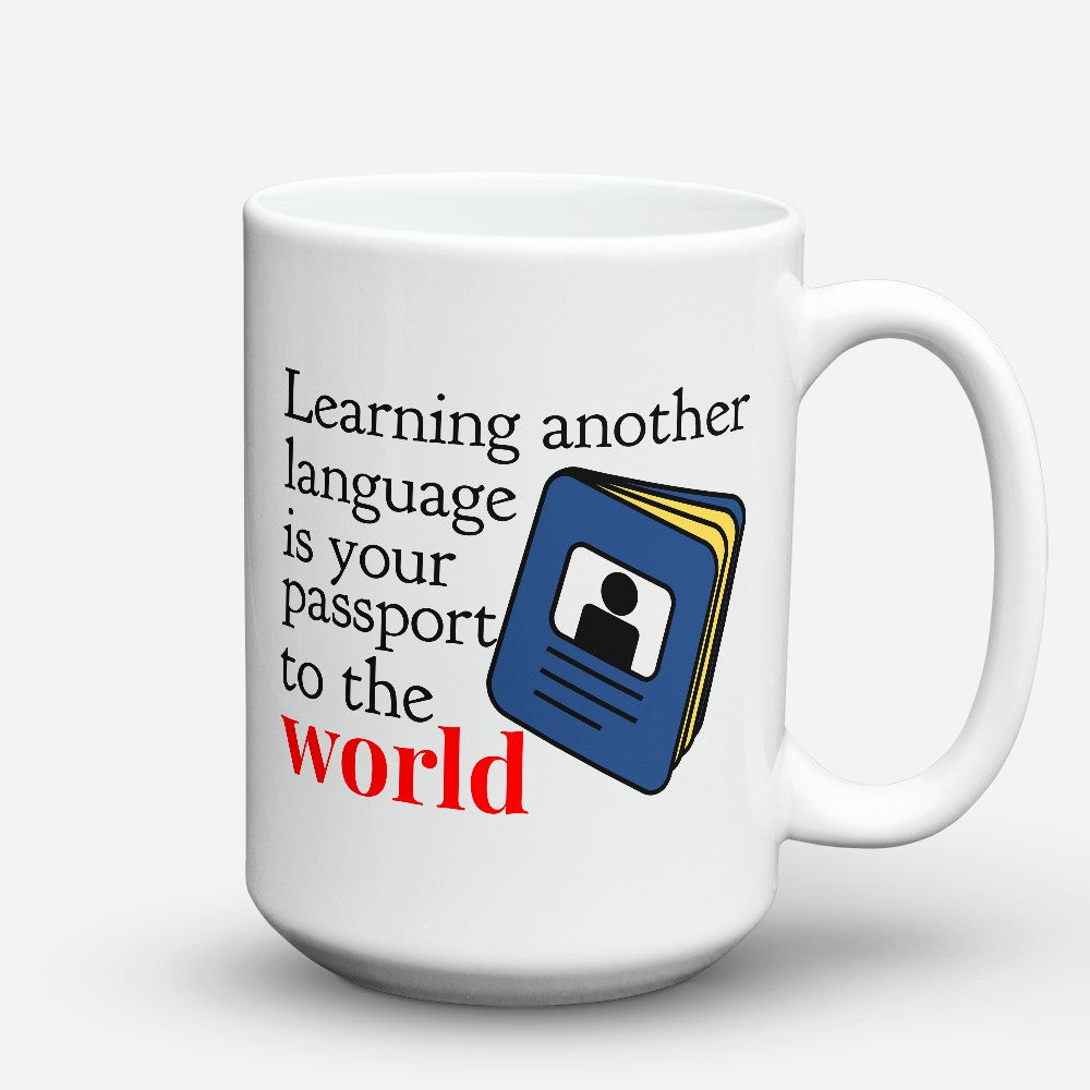 "Limited Edition - ""Passport To The World"" 15oz Mug"