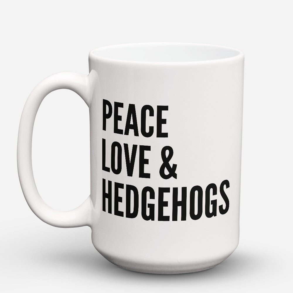 "Limited Edition - ""Peace Love"" 15oz Mug"