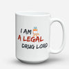 "Limited Edition - ""Drug Lord"" 15oz Mug - Pharmacist Mugs - Mugdom Coffee Mugs"