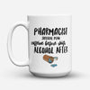 "Limited Edition - ""Pharmacist Survival Plan"" 15oz Mug - Pharmacist Mugs - Mugdom Coffee Mugs"