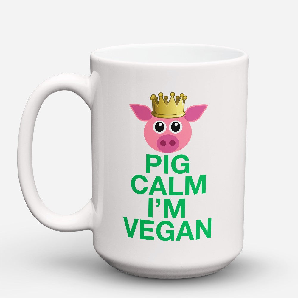 "Limited Edition - ""Pig Calm"" 15oz Mug"