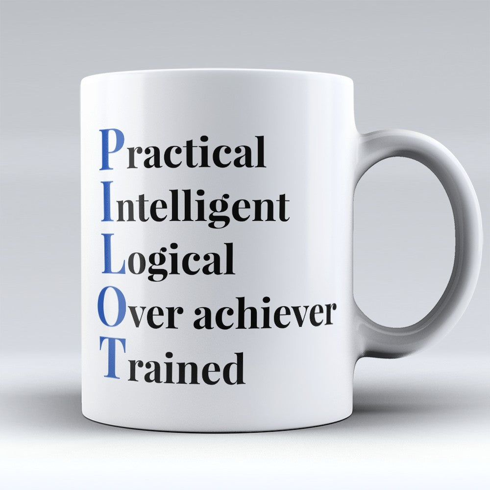 "Limited Edition - ""Pilot Acronym"" 11oz Mug"
