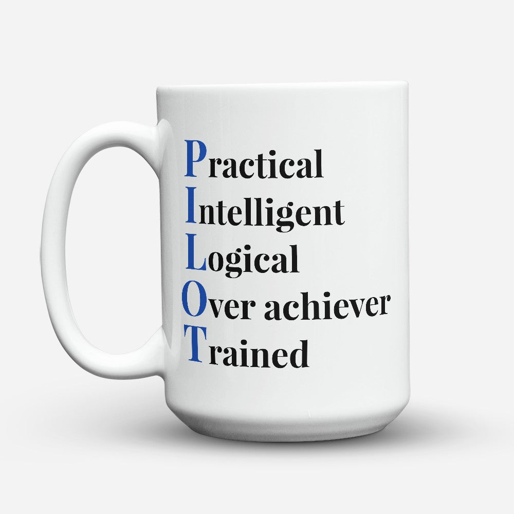 "Limited Edition - ""Pilot Acronym"" 15oz Mug"