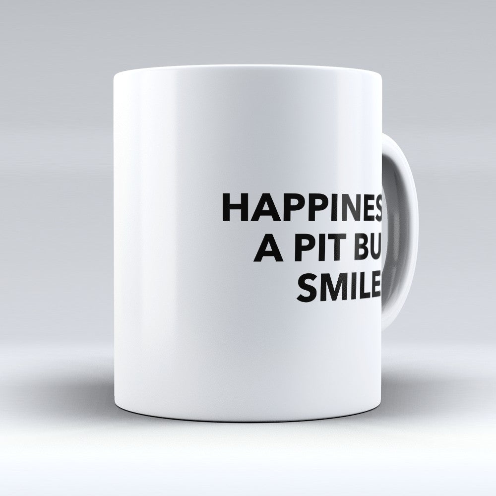 "Limited Edition - ""Pit Bull Smile 1"" 11oz Mug"