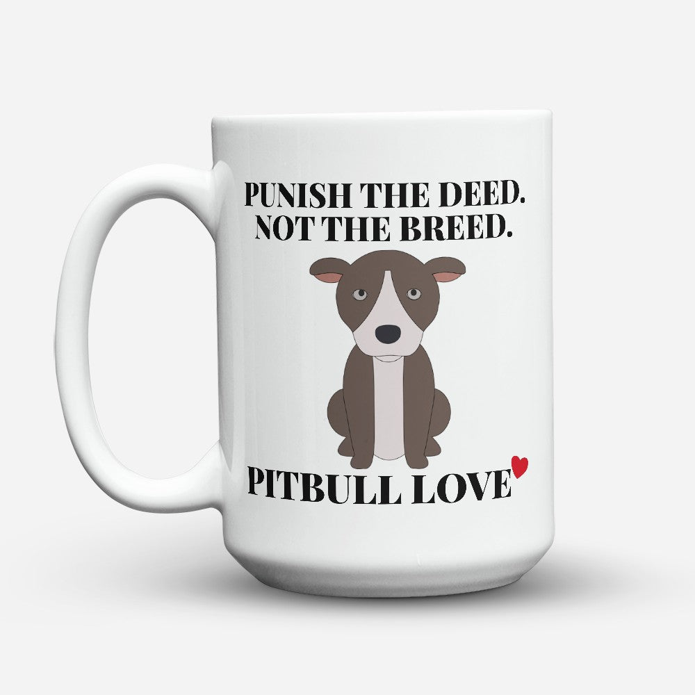"Limited Edition - ""Pitbull Love"" 15oz Mug"