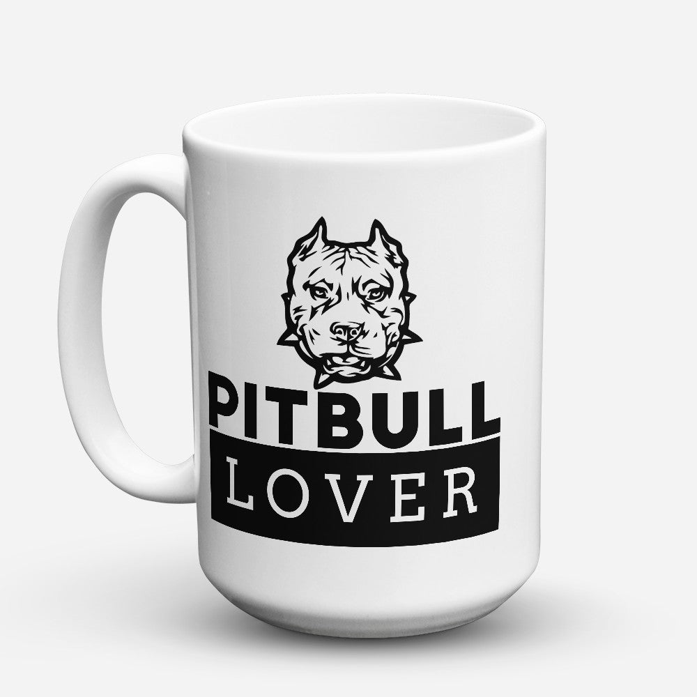 "Limited Edition - ""Pitbull Lover"" 15oz Mug"