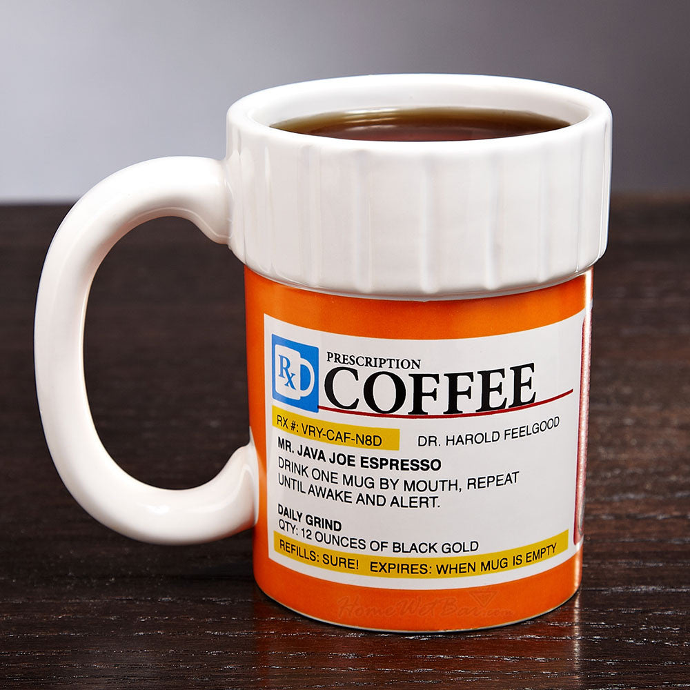 "Limited Edition - ""The Prescription"" 12oz Mug - Medical Mugs - Mugdom Coffee Mugs"