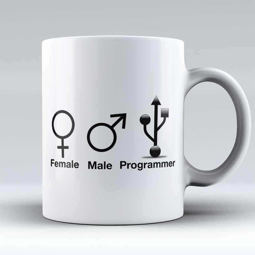 "Limited Edition - ""Programmer"" 11oz Mug - Developer & Programmer Mugs - Mugdom Coffee Mugs"