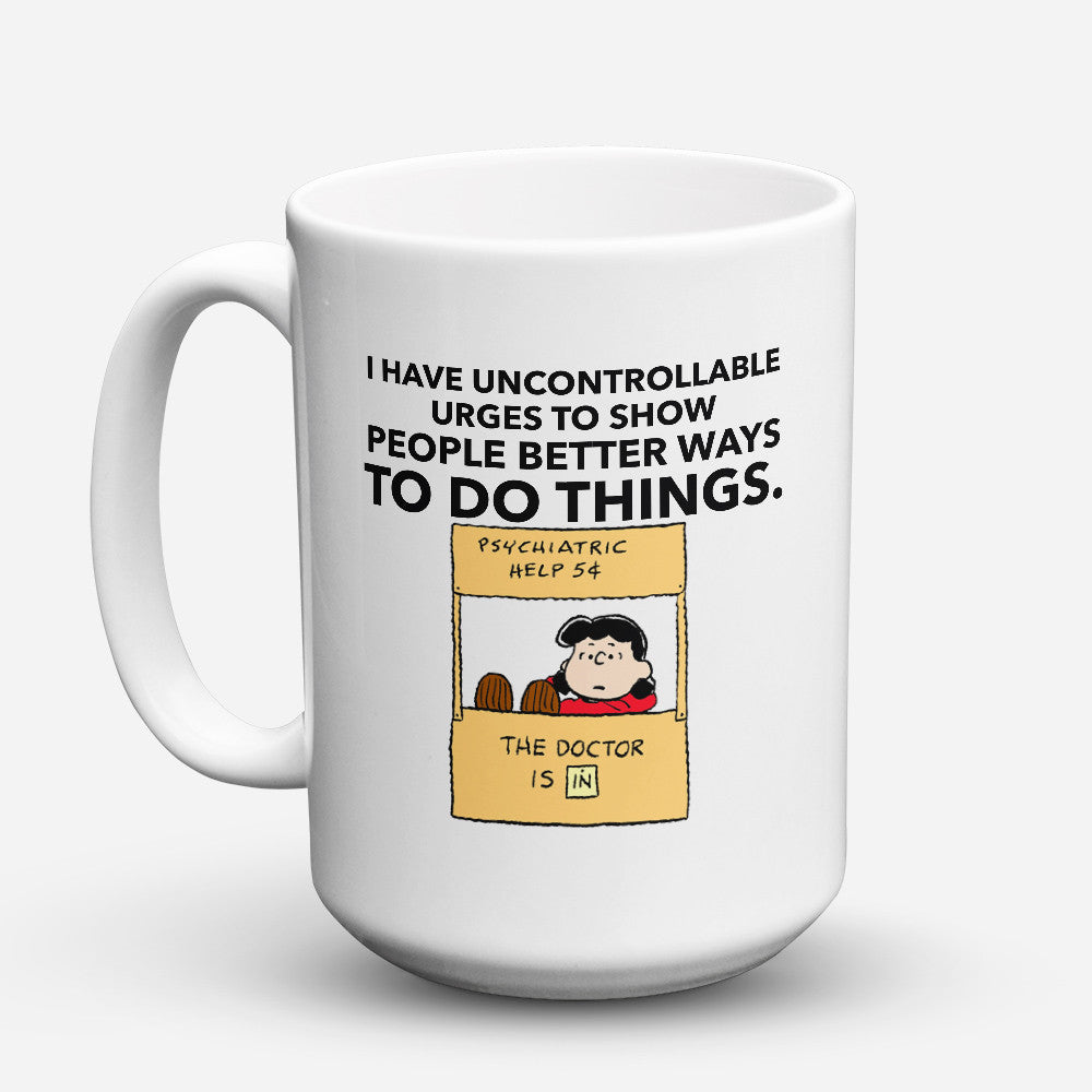 "Limited Edition - ""Counselor Uncontrollable"" 15oz Mug - Counseling Mugs - Mugdom Coffee Mugs"
