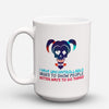 "Limited Edition - ""Counselor Uncontrollable Skull"" 15oz Mug - Counseling Mugs - Mugdom Coffee Mugs"