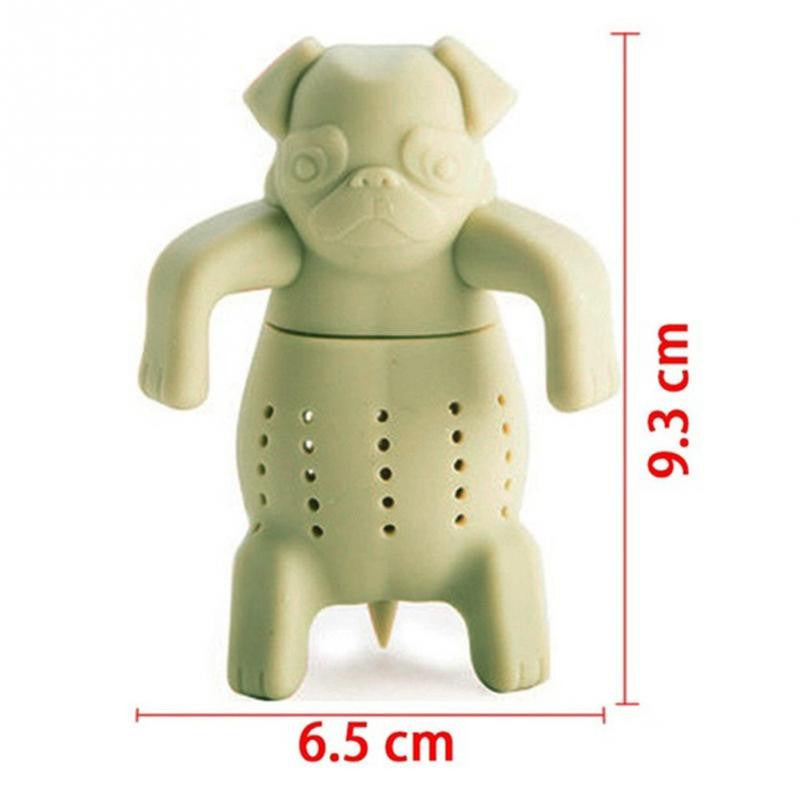 Pug In A Mug Tea Strainer - Mugdom Coffee Mugs