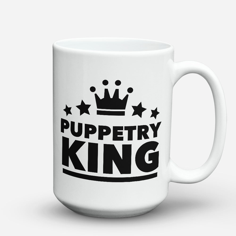 "Limited Edition - ""Puppetry King"" 15oz Mug"