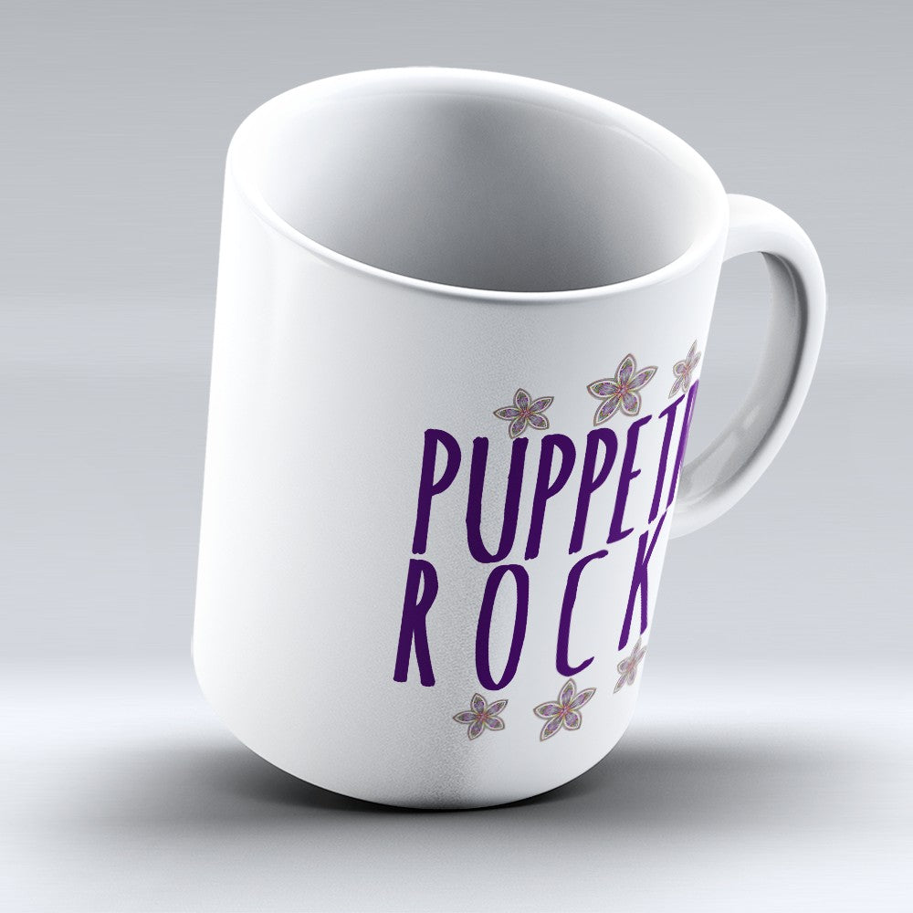 "Limited Edition - ""Puppetry Rocks"" 11oz Mug"