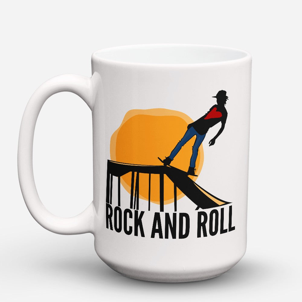 "Limited Edition - ""Rock And Roll"" 15oz Mug"