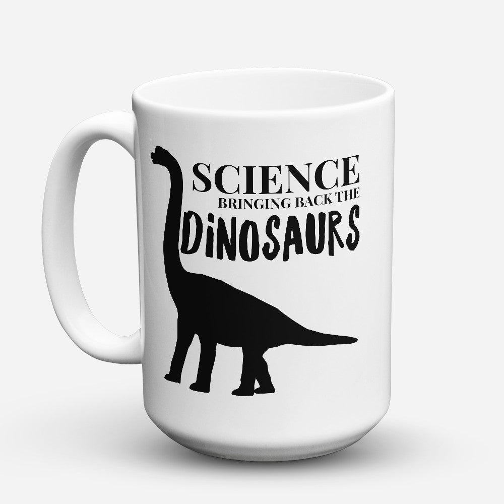 "Limited Edition - ""Science Dinosaurs"" 15oz Mug"