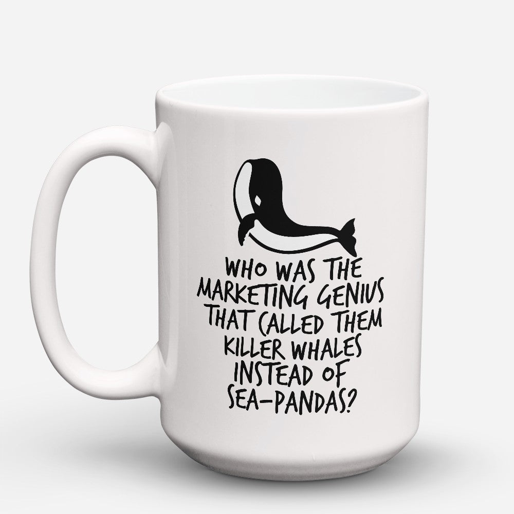 "Limited Edition - ""Sea - Pandas"" 15oz Mug"