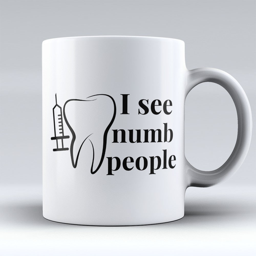 "Limited Edition - ""See Numb People"" 11oz Mug"