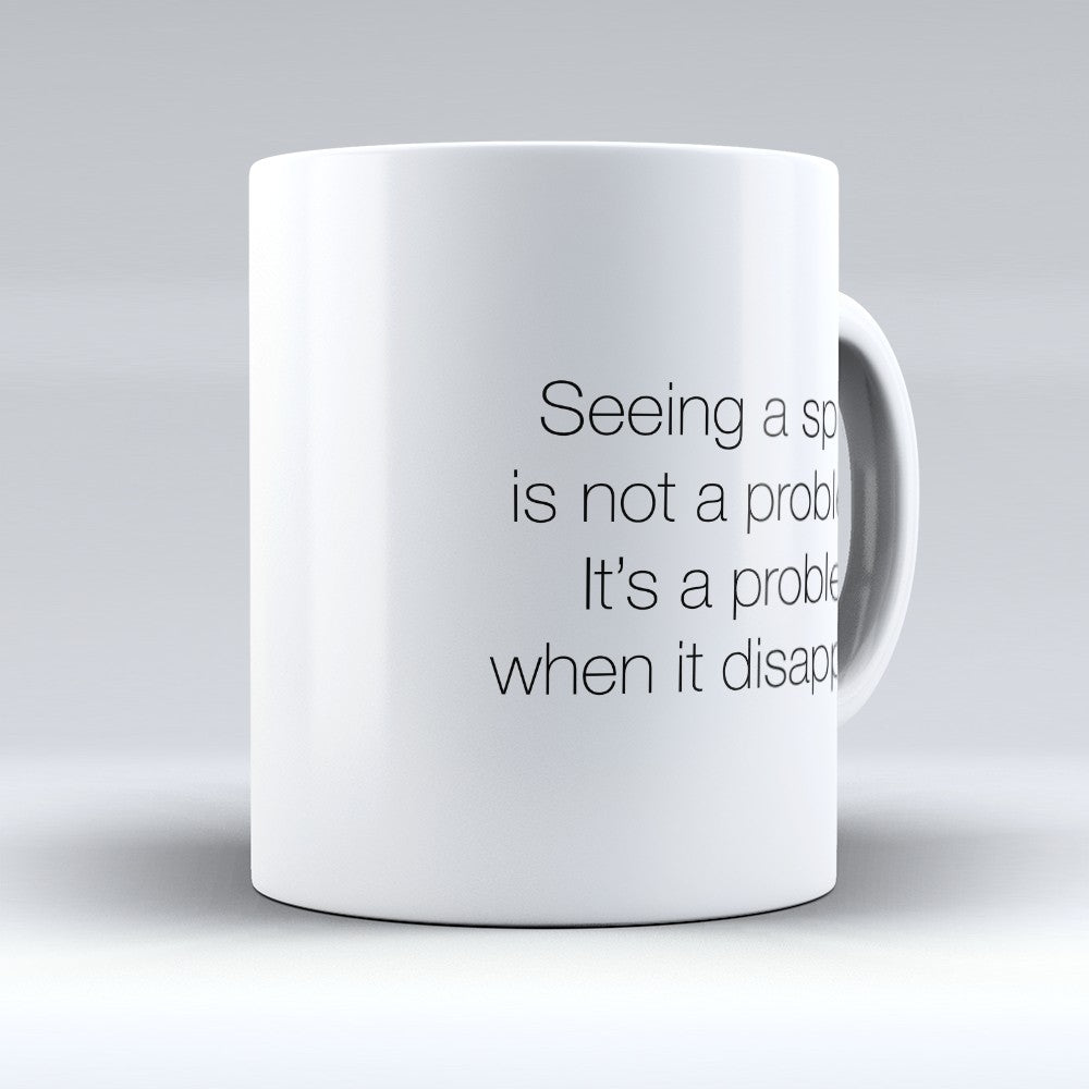 "Limited Edition - ""Seeing A Spider"" 11oz Mug"