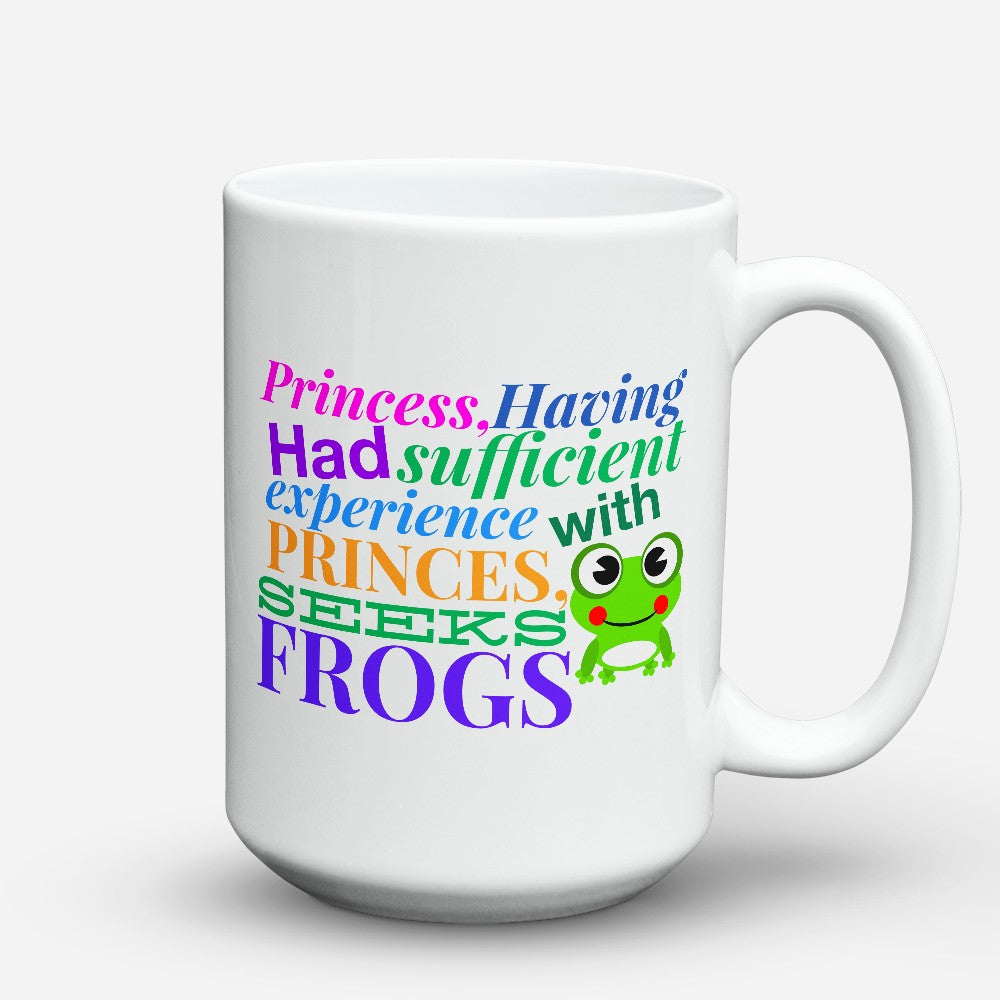 "Limited Edition - ""Seeks Frogs"" 15oz Mug"