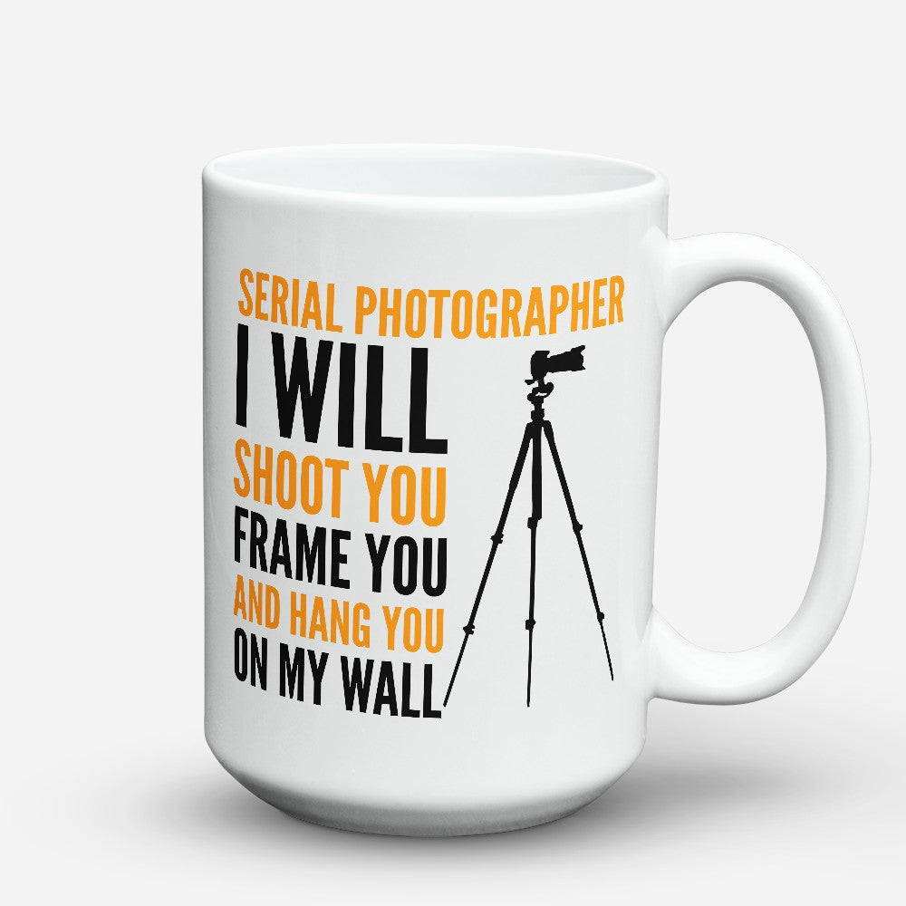 "Limited Edition - ""Serial Photographer"" 15oz Mug"