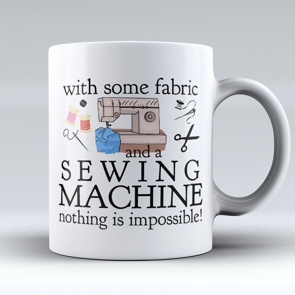 "Limited Edition - ""Sewing Machine"" 11oz Mug"