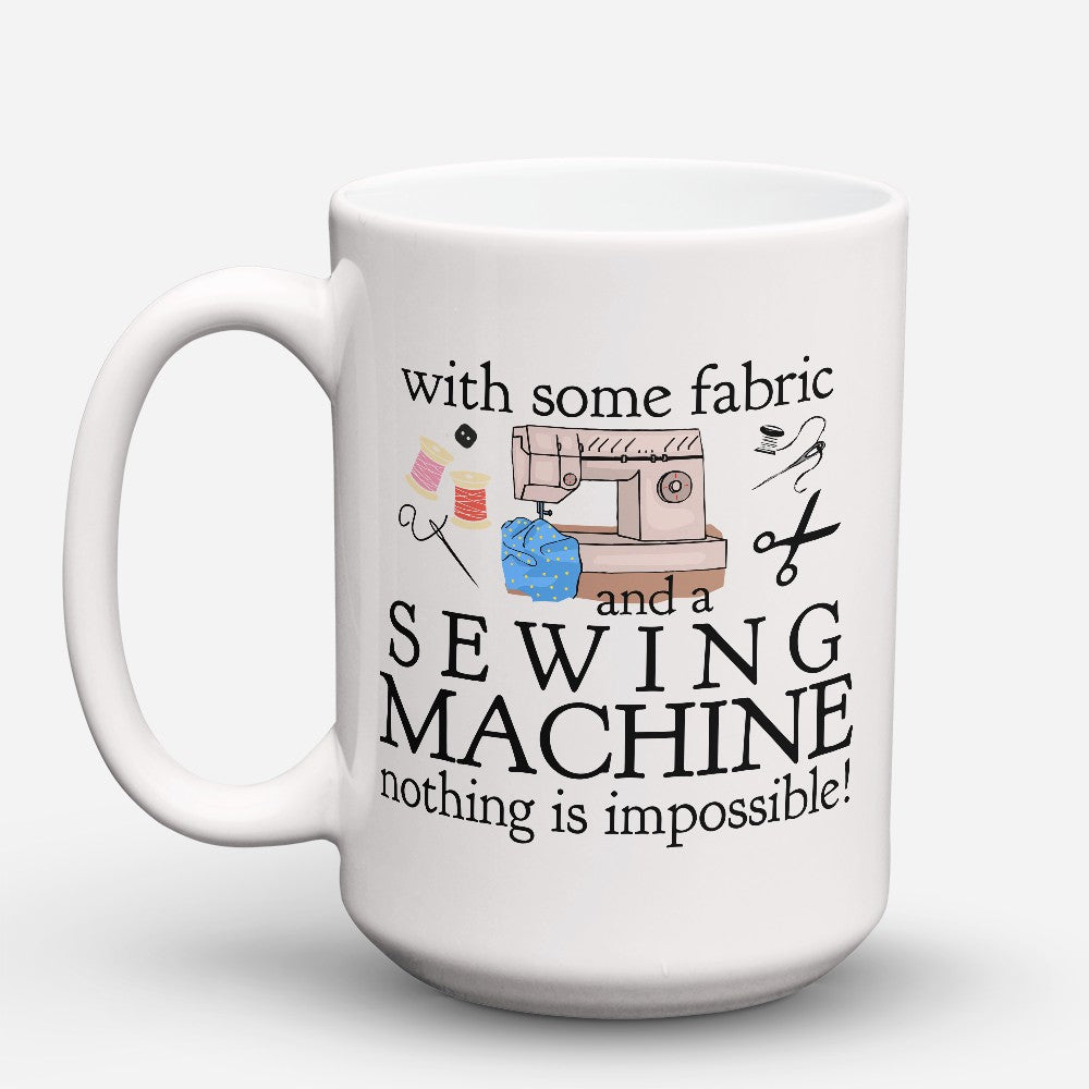 "Limited Edition - ""Sewing Machine"" 15oz Mug"