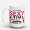 "Limited Edition - ""Sexy Firefighter"" 15oz Mug - Firefighter Mugs - Mugdom Coffee Mugs"