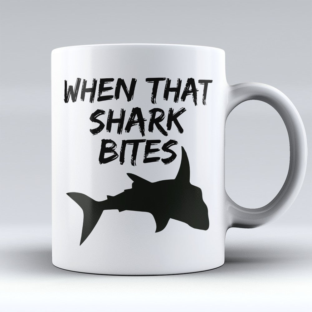 "Limited Edition - ""Shark Bites"" 11oz Mug"