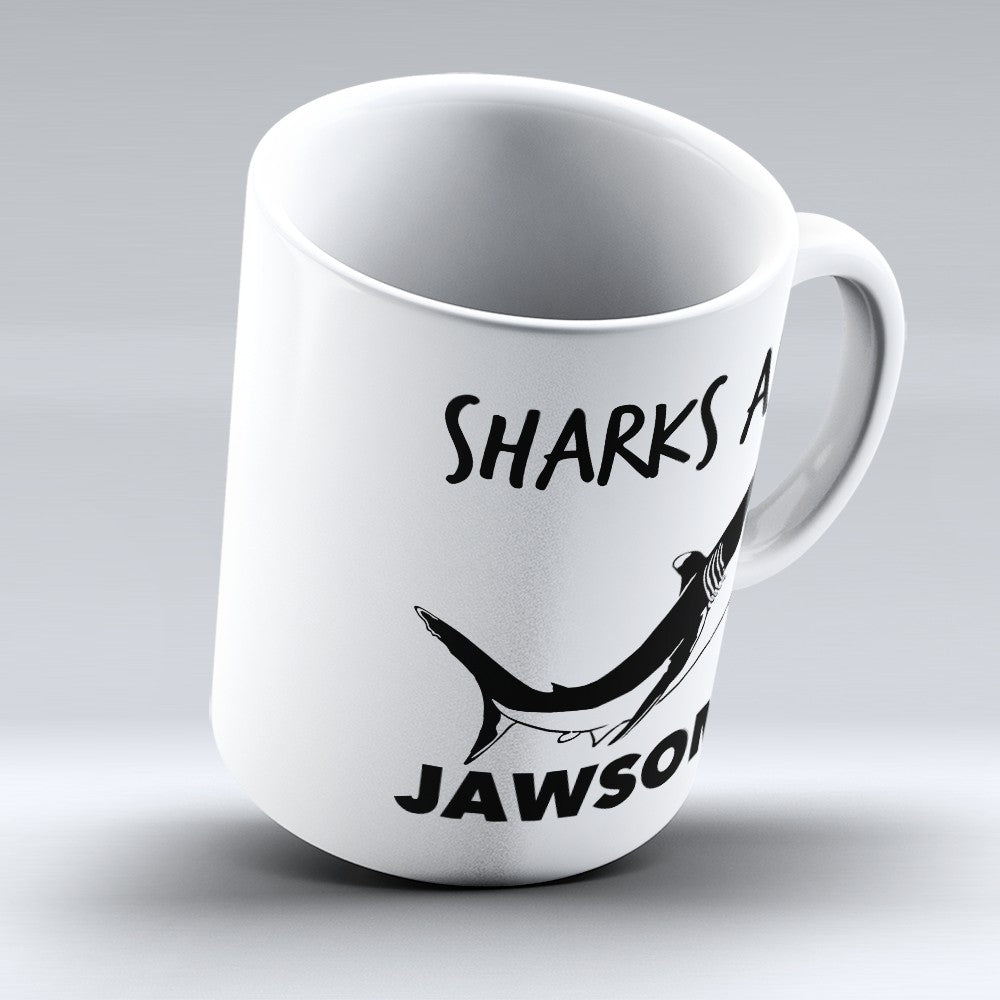 "Limited Edition - ""Sharks Are Jawsome"" 11oz Mug"