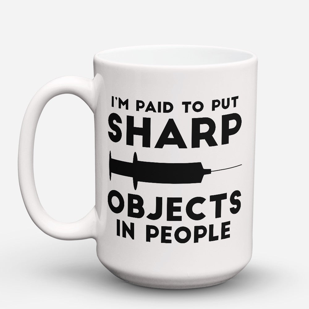 "Limited Edition - ""Sharp Objects"" 15oz Mug"