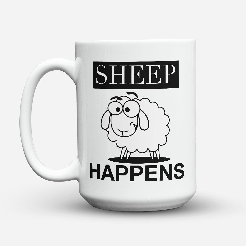 "Limited Edition - ""Sheep Happens"" 15oz Mug"