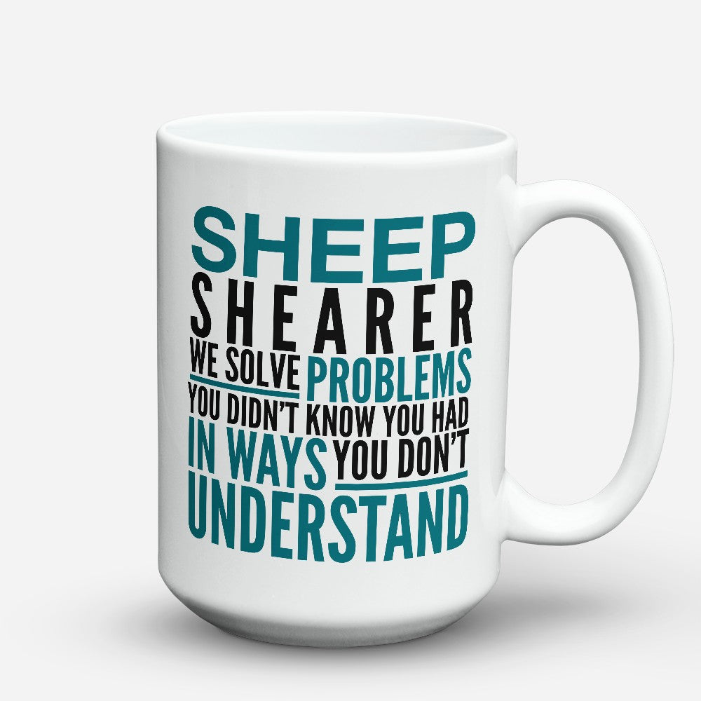 "Limited Edition - ""Sheep Shearer"" 15oz Mug"