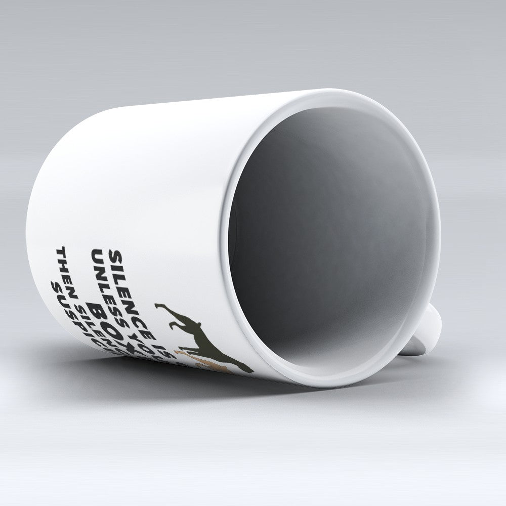 "Limited Edition - ""Silence Is Golden"" 11oz Mug"