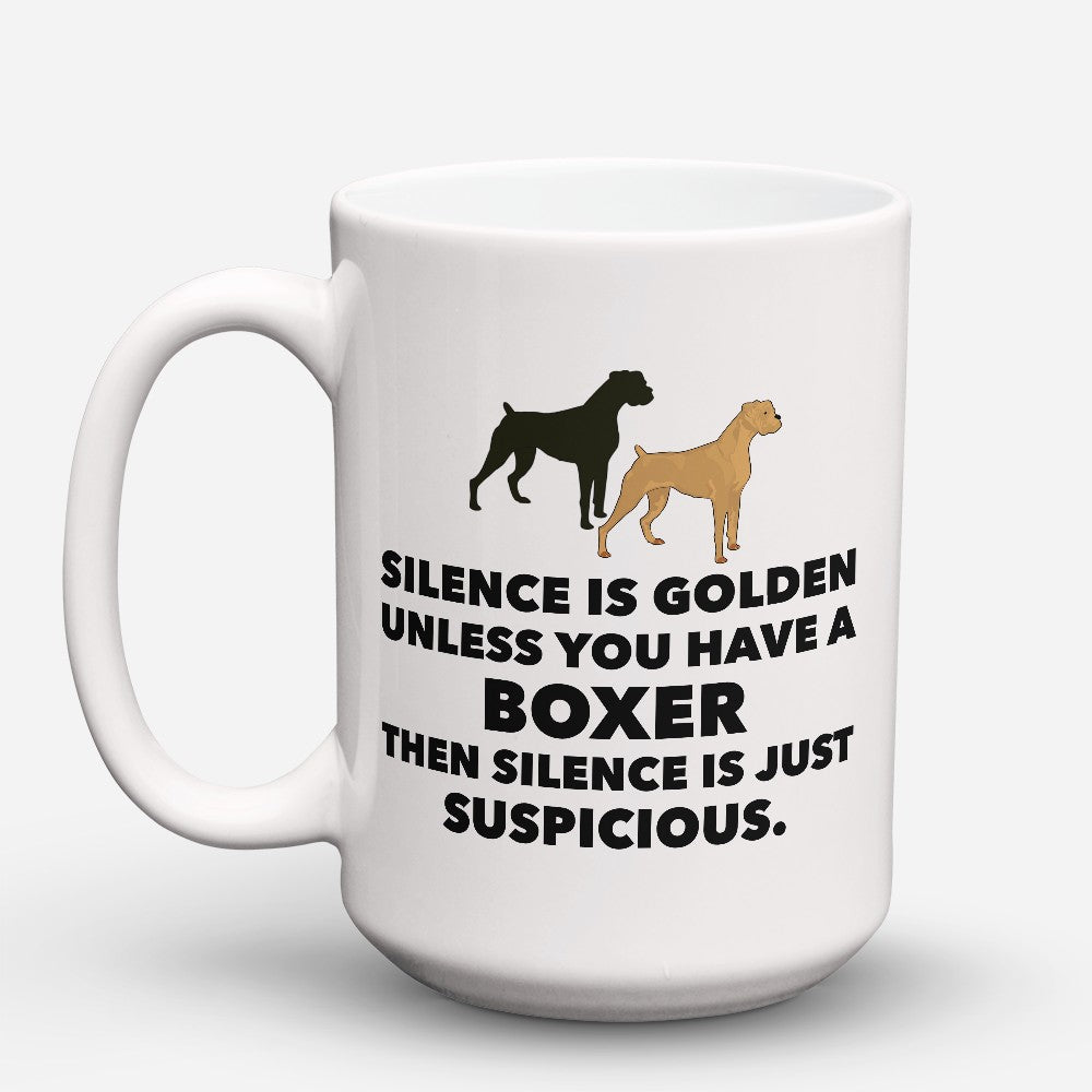 "Limited Edition - ""Silence Is Golden"" 15oz Mug"