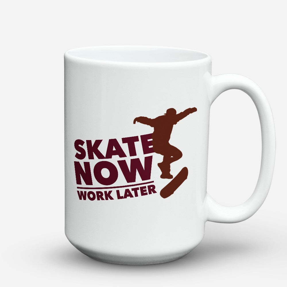 "Limited Edition - ""Skate Now"" 15oz Mug"