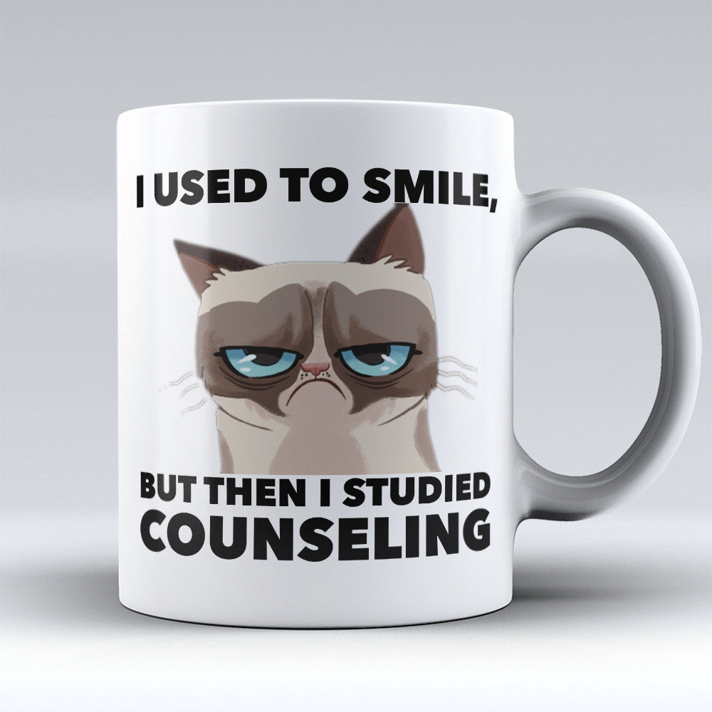 "Limited Edition - ""Counselor Smile"" 11oz Mug - Counseling Mugs - Mugdom Coffee Mugs"