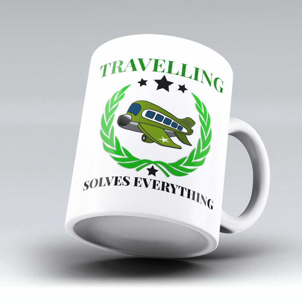 "Limited Edition - ""Solves Everything"" 11oz Mug"