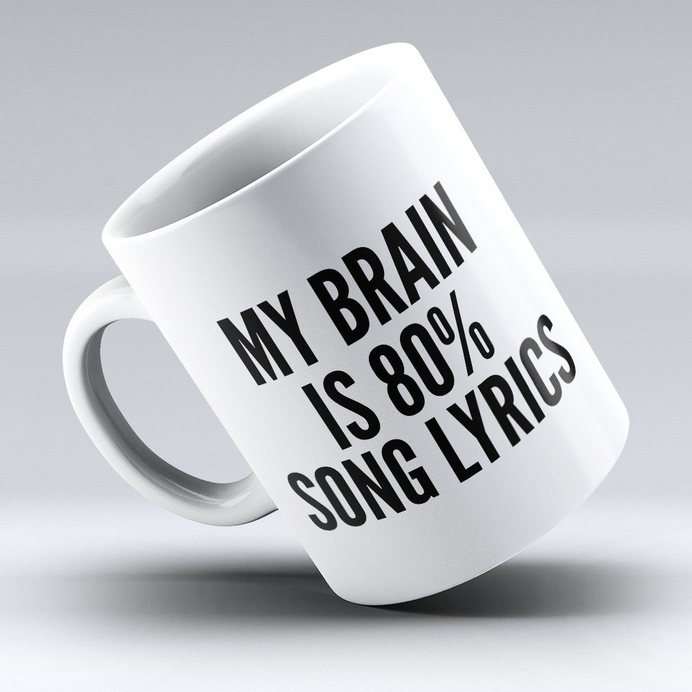 "Limited Edition - ""Song Lyrics"" 11oz Mug"