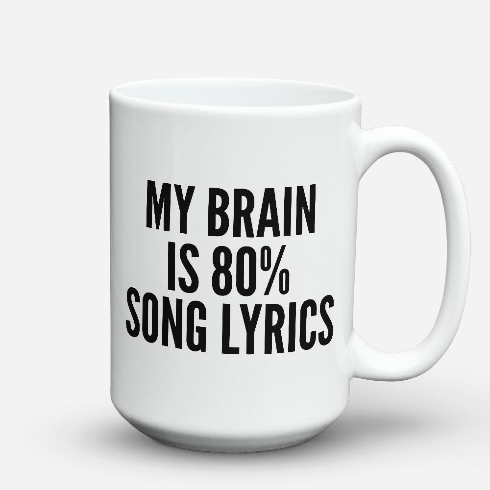 "Limited Edition - ""Song Lyrics"" 15oz Mug"