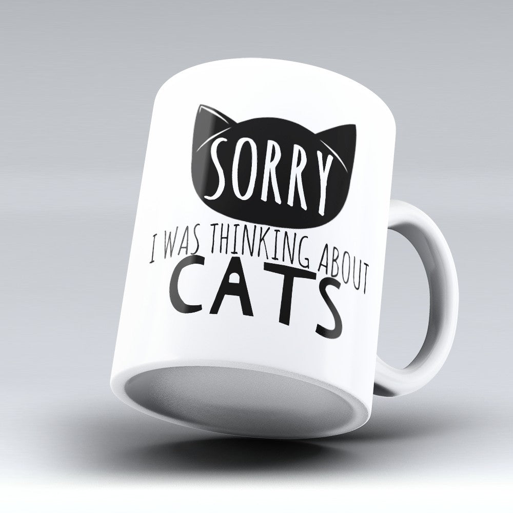 "Limited Edition - ""Sorry Cats"" 11oz Mug"