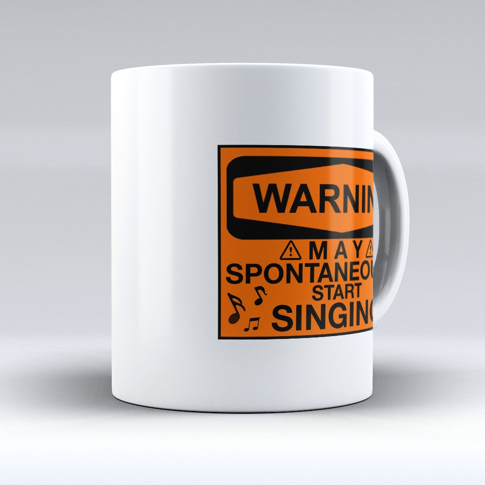"Limited Edition - ""Start Singing"" 11oz Mug"
